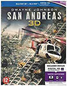 San Andreas 3D + 2D [Blu-ray]: Amazon.es: Dwayne Johnson ...
