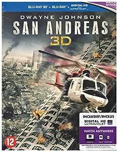 San Andreas 3D + 2D [Blu-ray]: Amazon.es: Dwayne Johnson ...