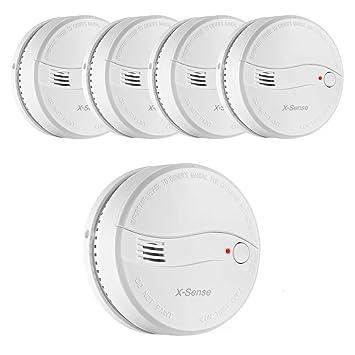 X-Sense DS22 A pilas Detector de humos alarma de incendio: Amazon.es: Bricolaje y herramientas
