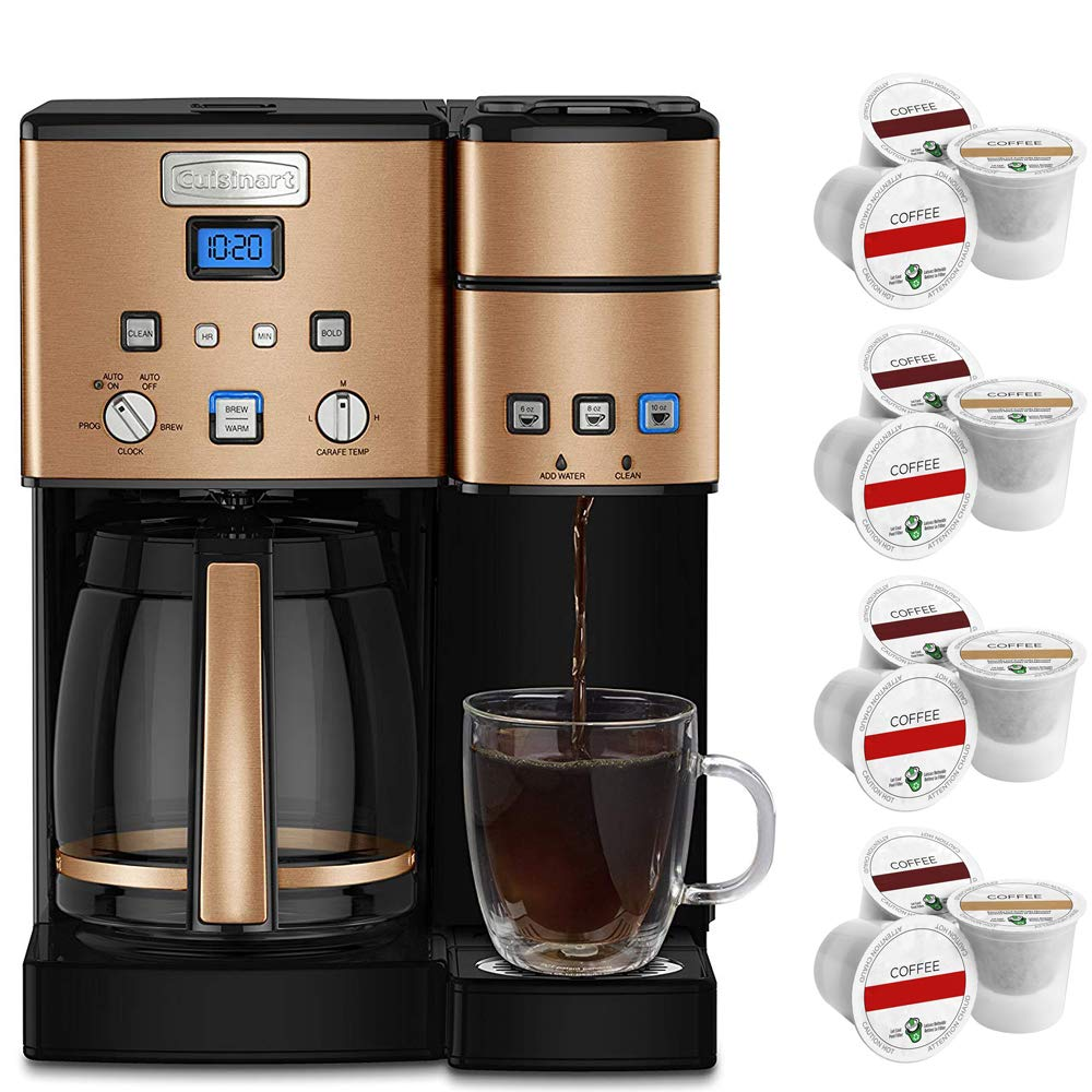 Best combo 12 cup coffee maker and single serve brewer ...
