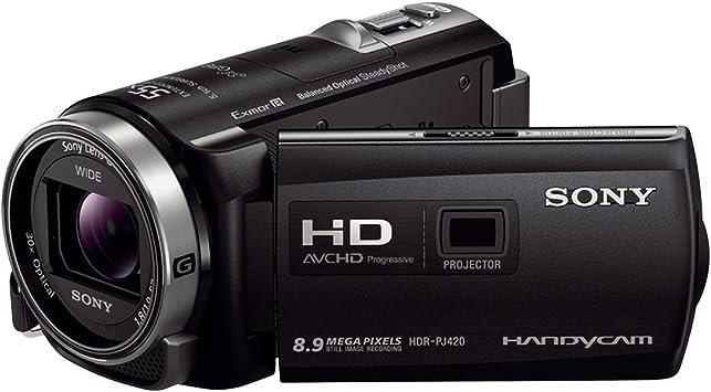 Sony HDRPJ420VE - Videocámara FULL HD de 8.9 Mp (pantalla de 3 ...