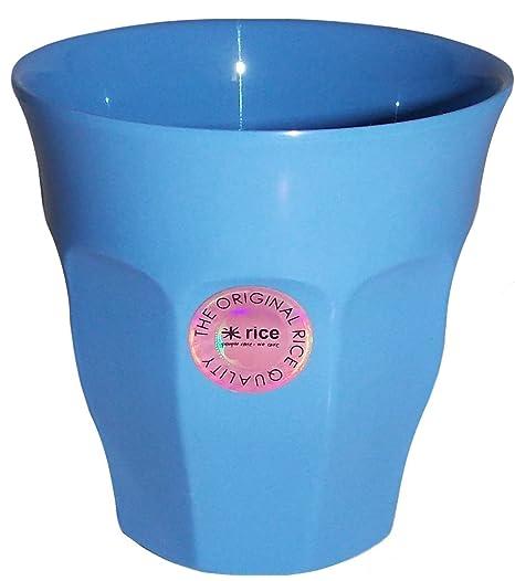 Rice Medium Plain Melamine Cup in New Dusty Blue