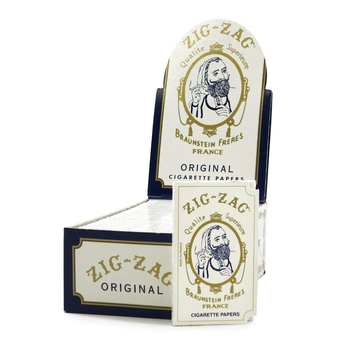 White Rolling Papers by ZIG-ZAG