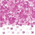 Pink Shimmer 30th Birthday Party Confetti (Metallic)