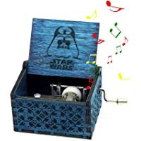 Teepao - Caja de música de Madera Tallada