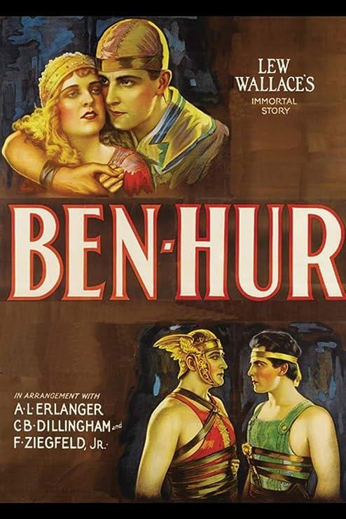 Ben Hur Movie Poster 12x18 Framed