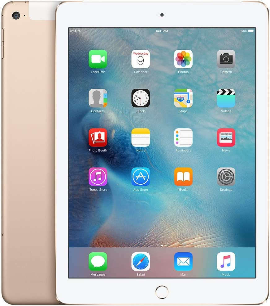 Amazon.com : Apple iPad Air 2 128GB Factory Unlocked Gold (Wi-Fi + Cellular  4G LTE) Newest Version (Renewed) : Computers & Accessories