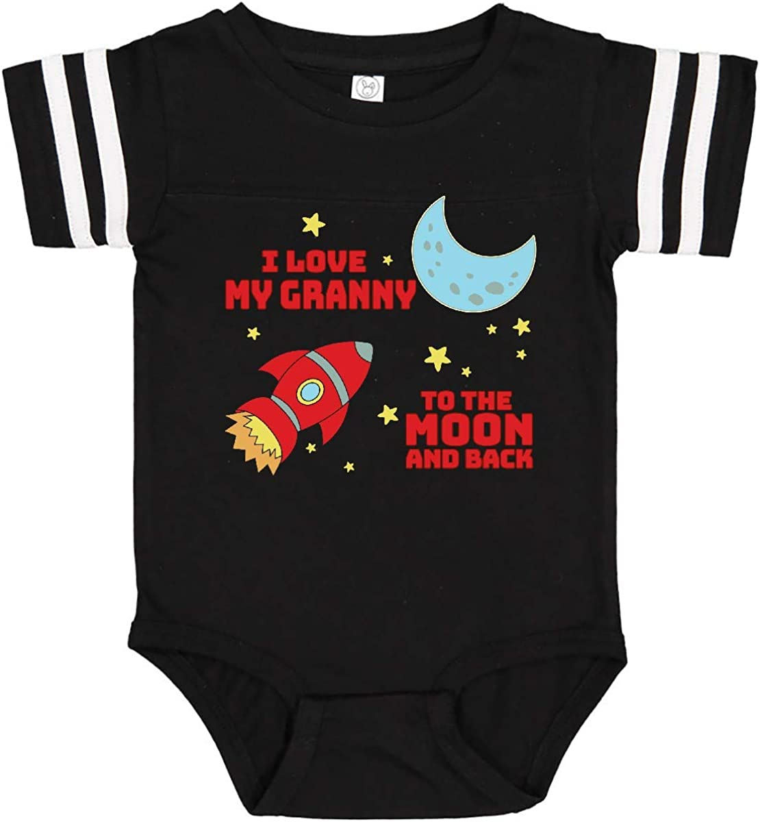inktastic I Love My Auntie to The Moon and Back Long Sleeve Creeper