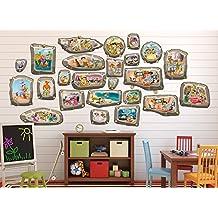 Flintstones Family Frames Large Wall Decal Set