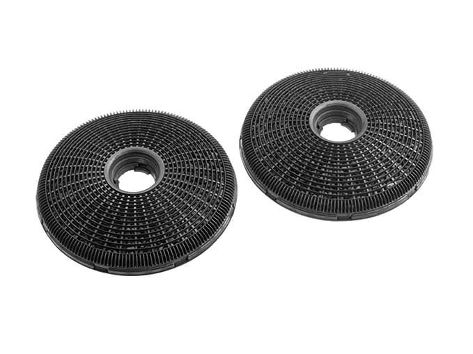 Zanussi ECFB02 Cooker hood filter accesorio para campana de estufa - Accesorio para chimenea (Cooker hood filter, Negro, Fibra de carbono, Zanussi, ...