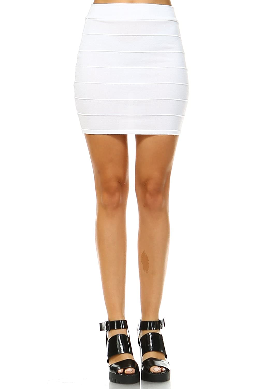 0cb6e554ea5fe 5Thread Bandage Bodycon Mini Skirts(16