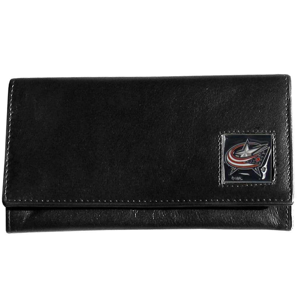 NHL Columbus Blue Jackets Genuine Leather Women's Wallet