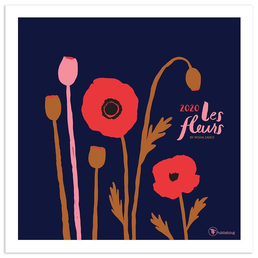 Uf Calendar 2020.Amazon In Buy Les Fleurs 2020 Calendar Book Online At Low Prices In