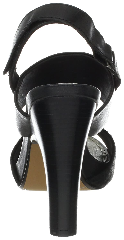 nicole Women's Archer Slingback Sandal B009FX0JWM 8.5 B(M) US|Black