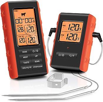 Tranmix Digital 328 Feet Wireless Meat Thermometer