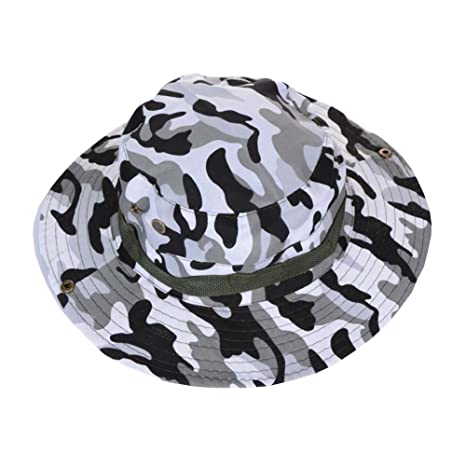 9bb315764e0bb Image Unavailable. Image not available for. Color  Alien Storehouse Camouflage  Sun Hat Outdoor Fishing Hunting Bucket Hat - 01