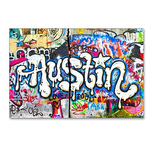CafePress - Austin Graffiti - Postcards (Package of 8), 6