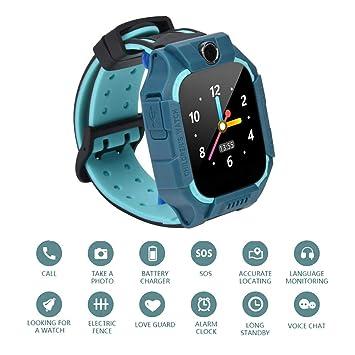 Tosuny Smartwatch para Niños, Reloj Inteligente Localizador ...