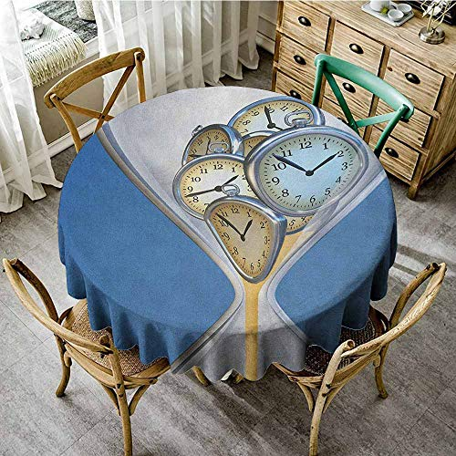 Rank-T Round Tablecloth Fitted 67