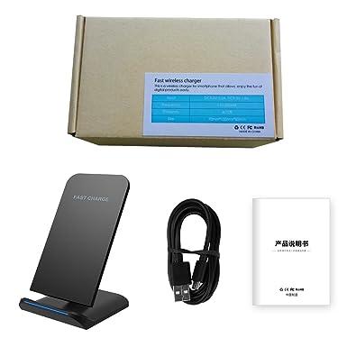 Amazon.com: Cargador de teléfono móvil inalámbrico ...