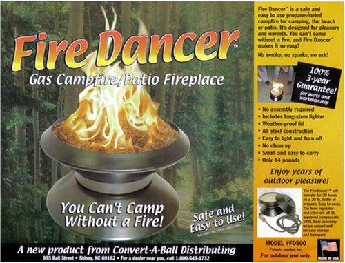 - Convert-A-Ball FD500 Fire Dancer Portable Patio Fire Pit