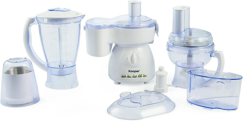 Kooper 2179470 Robot de Cocina, 380W, 6 En 1: Amazon.es