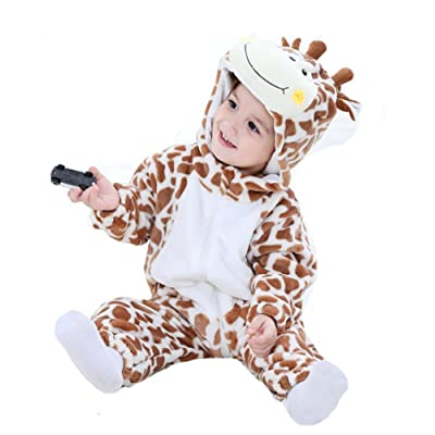 Tonwhar Inflant and Toddler Animal Onesie Cosplay Costume: Clothing