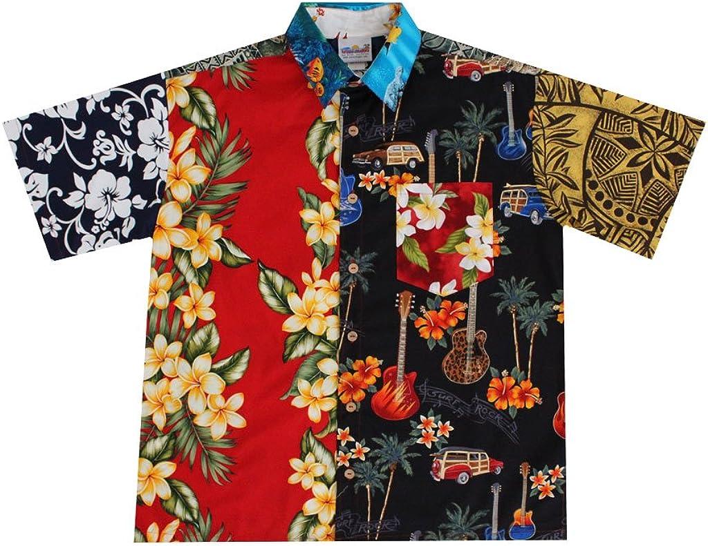Wave Shoppe Men's Ugly Hawaiian Shirt