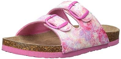 Northside Girls' mariani Sandal, Fuchsia/Multi, Size 1 M US Little Kid