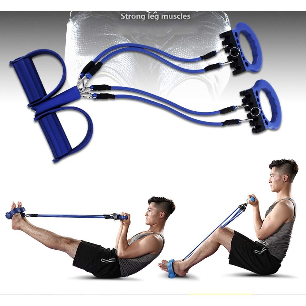 Byx- Fitness Equipment Home Multi-Functional Trainer Men and Women Sports Abdomen Calcined Chest Muscles Abdominal Abdomen Roller Rolling -Roller Wheel (Color : A) by Byx- (Image #6)
