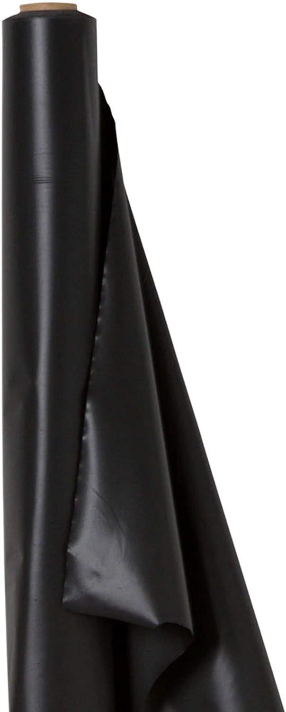 Amscan International - Mantel de Rollo de plástico (30,5 m Aprox.), Color Negro