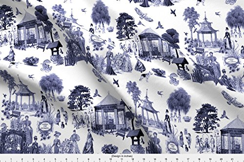 - Spoonflower Vote Fabric Votes for Women by Bluevelvet Printed on Linen Cotton Canvas Ultra Fabric by The Yard
