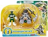 Fisher-Price Imaginext Power Rangers Battle Armor Green Ranger Action Figure