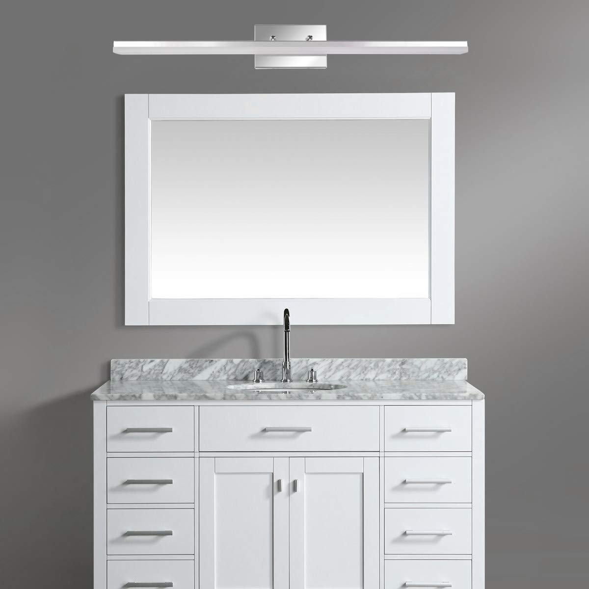 mirrea 36in Modern LED Vanity Light for Bathroom Lighting Dimmable 36w Cold White 5000K by mirrea (Image #3)