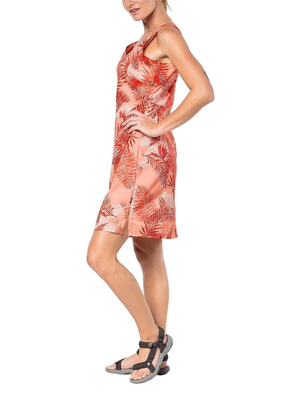 Jack Wolfskin Wahia Kleid mit Palmenmuster