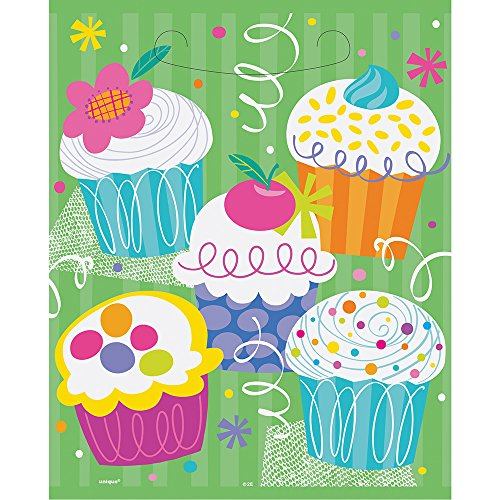 (Cupcake Party Goodie Bags, 8ct)
