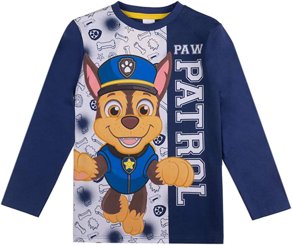 maglia a maniche lunghe Paw Patrol per bambini