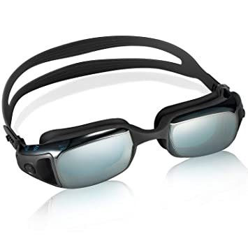 Professional Adult Swimming Goggles Glasses Anti-fog UV Protection Adjustable SY