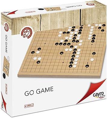 Cayro - Go de Madera - Juego de Habilidades cognitiva e inteligencias múltiples - Juego Infantil - Juego de Mesa - (660): Amazon.es: Juguetes y juegos