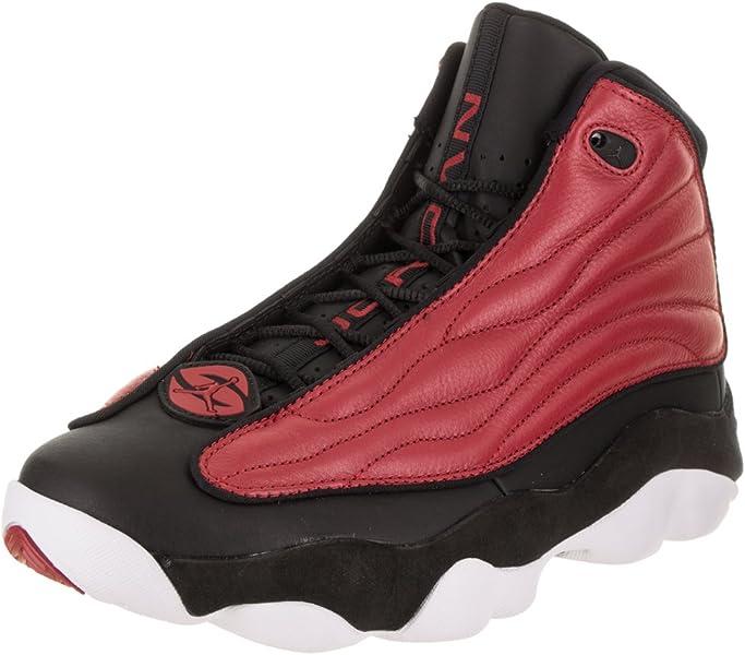 best sneakers 330e9 23af9 Nike Mens Jordan PRO Strong, Gym RED Black-White, 8 D(