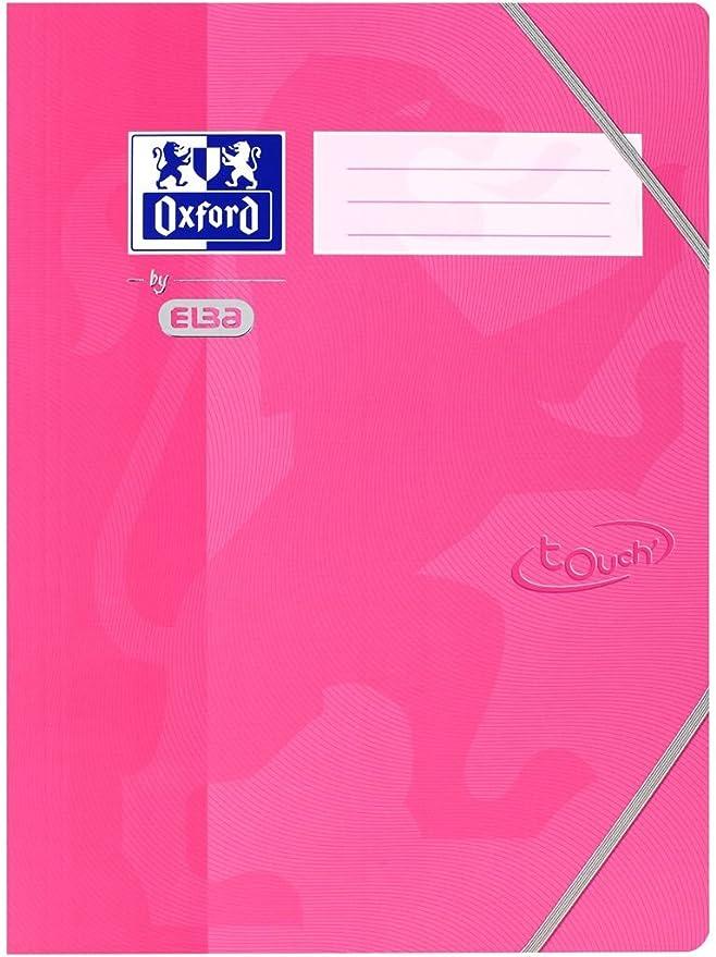 Oxford 400103392 - Cuaderno (Adulto, Rosa, Estampado, A4, Tapa dura, Cartón): Amazon.es: Oficina y papelería