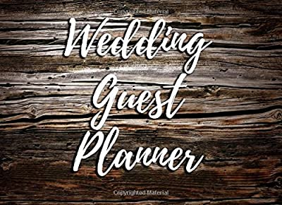 Wedding Guest Planner: Portable Blank Book - List Names and Addresses of People to Invite - Space for 400 Guests