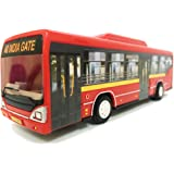 Jack Royal City Bus Miniature Toy - Red
