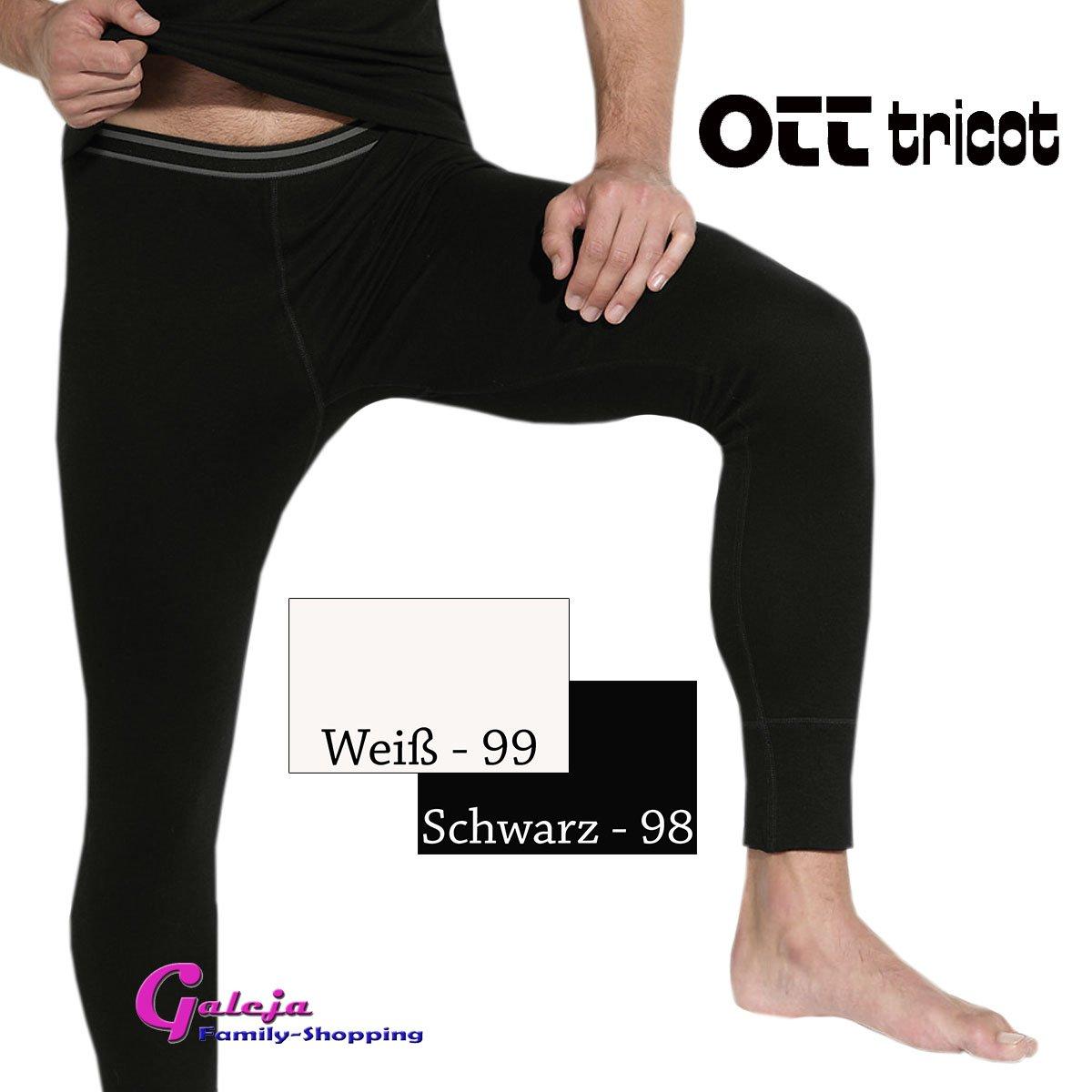 M-XXXL Ott-tricot Herren Funktionsw/äsche Unterhose lang LEMA Therm 2 Farben Gr