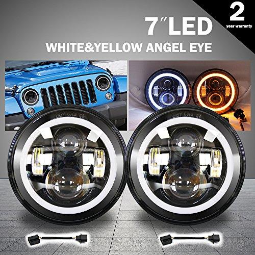 7 led round lights - 7
