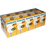 10 x Philips Glühbirne Tropfen 25W E14 MATT Glühlampe 25 Watt Glühbirnen Glühlampen