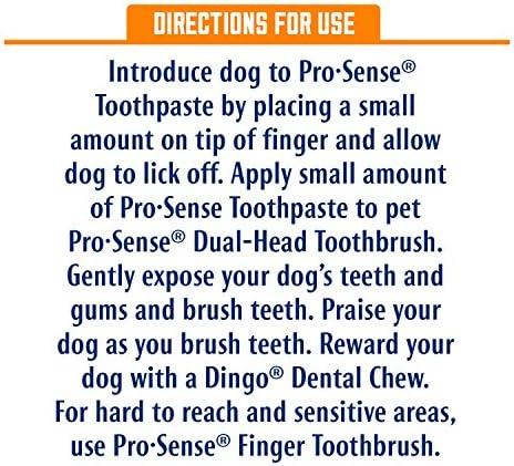 ProSense Dental Solutions for Dogs, Enzymatic Formula, 3-Piece Kit