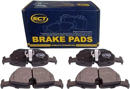 Sct Sp184pr Brake Pad Set Bmw Brake Pad Set Rear Amazon De Auto