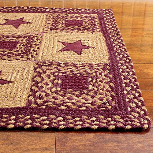Ihf Home Decor Rectangle Country Style Braided Area Rug 5