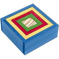 Carlu Brinquedos - Caixas Coloridas Jogo de Construção, 3+ Anos, Multicolorido, 1082